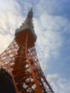 東京タワーの見える風景